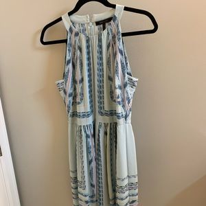 BCBG Maxazria Blue Mini Dress